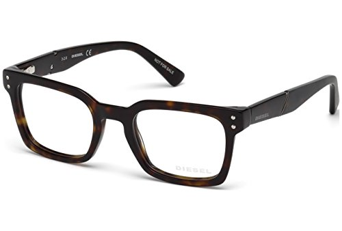 Diesel DL5229 Eyeglass Frames - Dark Havana Frame, 50 mm Lens Diameter DL522950052