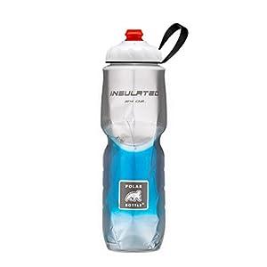 Polar Bottle Zipstream Breakaway - 24oz Insulated Water Bottle (Blue Fade)