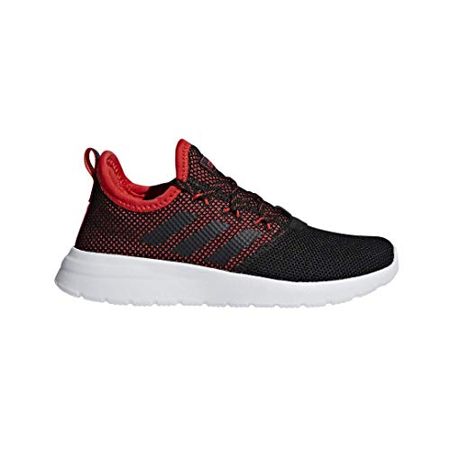 adidas Unisex Lite Racer Reborn, Black/Active red, 13.5K M US Little ()