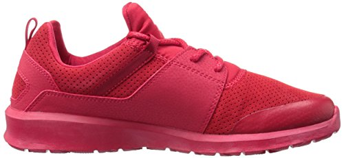 DC Men's Heathrow Prestige Unisex Casual Skate Shoe Red/Red/Red lowest price 8EHS8zU