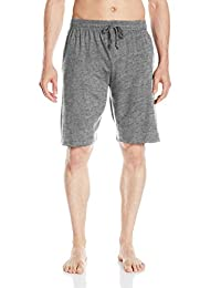 Essentials by Seven Apparel mens Solid Cotton Knit Short