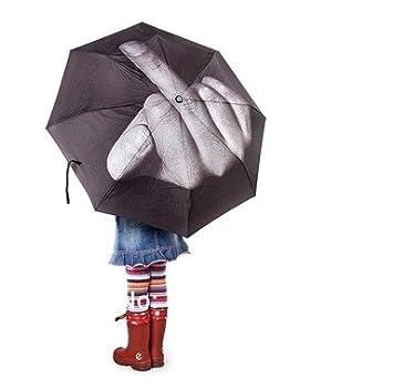 THG Paraguas, diseño de mano haciendo una peineta