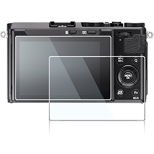 Screen Protector Compatible Fujifilm x-t3 x70 Leica M10 Leica SL Type 601 Nikon J4 J5 Panasonic LX9 LX10 G8 G7,debous Anti-Scratch 9h Hard Clear Optical Tempered Glass Sheet(2pack)
