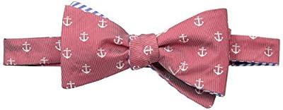 Countess Mara Men's Bolton Anchors and Stripe Self Reversible Bow Tie