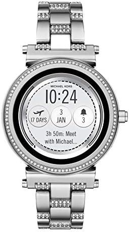 マイケルコース MICHAEL KORS 腕時計 レディース MKT5036 スマートウォッチ ソフィー SOFIE クォーツ シルバー [並行輸入品]