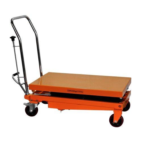 Hydraulic Scissor Lift Carts : Bolton tools new hydraulic foot operated double scissor