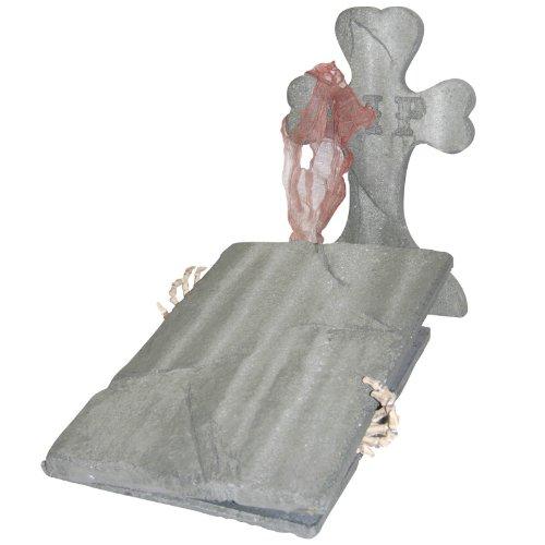 [Escaping Skeleton Cemetery Kit] (Cemetery Halloween Costume)