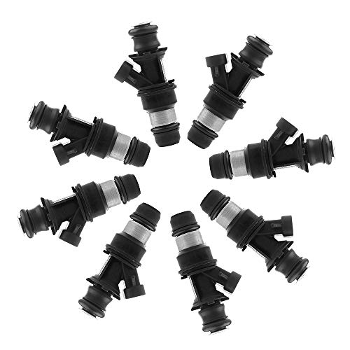 OCPTY Fuel Injector, 6pcs 4 Holes Replacement Fuel Injectors Part fit Chrysler 300 Town Country Sebring Pacifica,Dodge Avenger Challenger Charger Journey Grand Caravan Magnum Nitro Stratus 0280158028 2007 Chrysler Sebring Fuel Economy