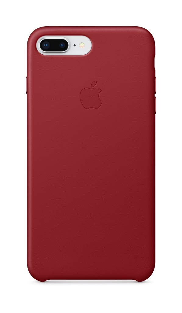 separation shoes 647c1 dc80f Apple Leather Case (for iPhone 8 Plus / iPhone 7 Plus) - (PRODUCT)RED