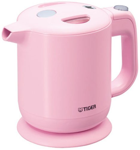 photo Wallpaper of Taigamahobin (TIGER)-TIGER Electric Kettle 0.6 L Whenever You Like To Boil-Pink