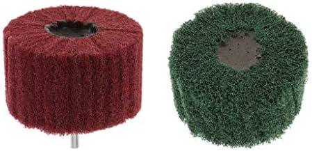 perfk 研磨 砥石フラップ サンディング ディスクグリーン 研磨用 6mm