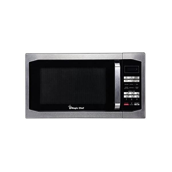 Magic Chef MCM1611ST 1100W Oven, 1.6 cu.ft, Stainless Steel Microwave 1