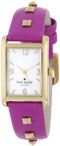 kate spade new york Women's 1YRU0244 Baja Rose Pyramid Watch
