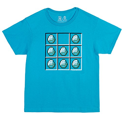 Minecraft Diamond Crafting Youth T-shirt