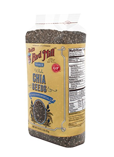 Bob s Red Mill Chia Seeds, 16-ounce (Package May Vary)