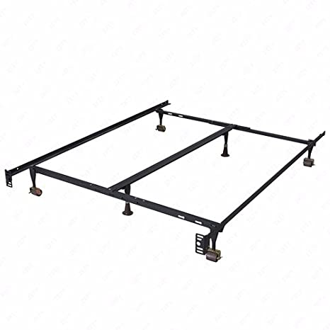 Amazon Com Mecor Adjustable Metal Bed Frame Platform Heavy Duty