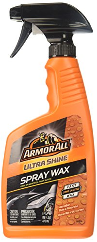 Wax Spray Fast Car (Armor All Ultra Shine Spray Wax (16 fluid ounces), 18237)