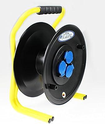 /Enrollador de cable el/éctrico profesional IP 44/Uso obras 320/mm 50/m 250/V//16/A AS/ /Schwabe 820620/