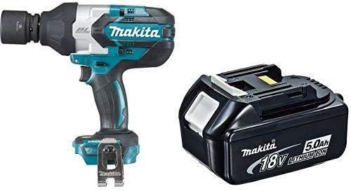 Makita DTW1001Z - Llave de impacto + Makita 4434175 - Acumulador 18 v 5ah