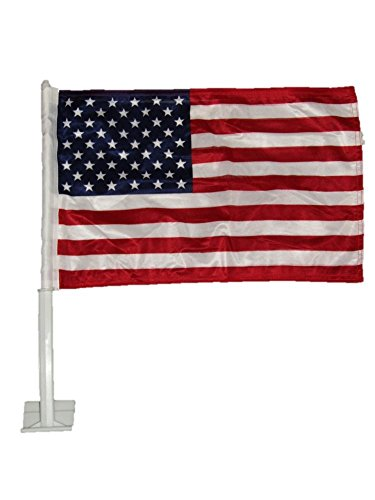 "AES 12x18 USA American Knitt Double Sided Car Vehicle 12""x18"" Flag"