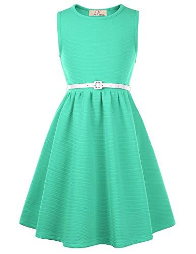 GRACE KARIN Girls Sleeveless Dresses