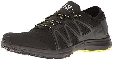 Salomon Men's Crossamphibian Swift Athletic-Sandals, Black, 10 M US