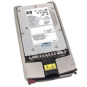 - HP 286714-B22 72.8GB Ultra 320 10,000RPM 8MB SCSI Hard Drive