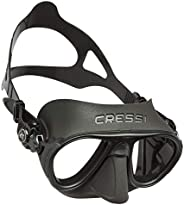 Cressi Adult Scuba Diving Mask, Fog Stop, Low Volume, Wide View - Calibro: made in Italy
