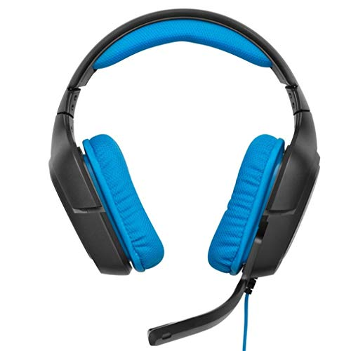Finedayqi ❤ Logitech G430 7.1 Wired Surround Sound Gaming Headphones Microphone Headset