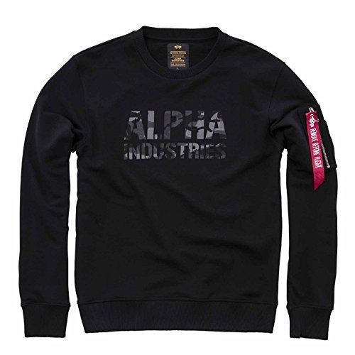 Black Alpha Industries Lunghe Uomo Maniche Giacca qRqTXP