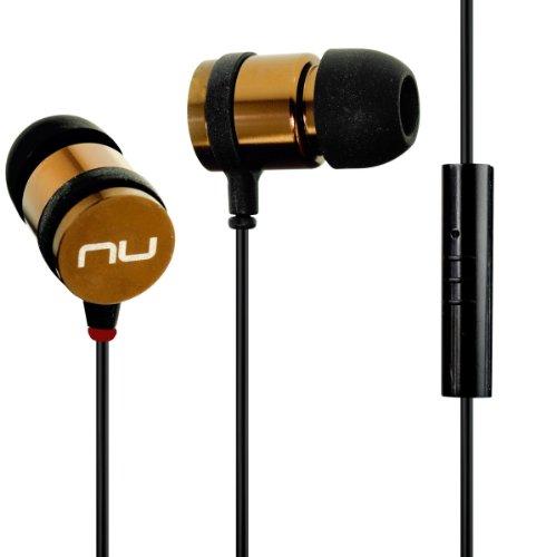 NuForce NE700M Titanium Headphones Microphone