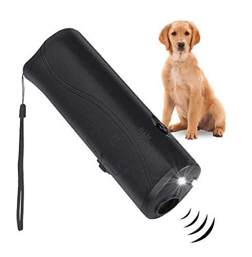 PetSole Anti Barking Device, Ultrasonic Dog Repeller & 3 in 1 Pet LED Trainer Device | Dog Bark Deterrent & Stop Bark Handheld Dog Training Device