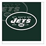 Creative Converting Officially Licensed NFL Paper Bowls, 8-Count, 20-Ounce, New York Jets