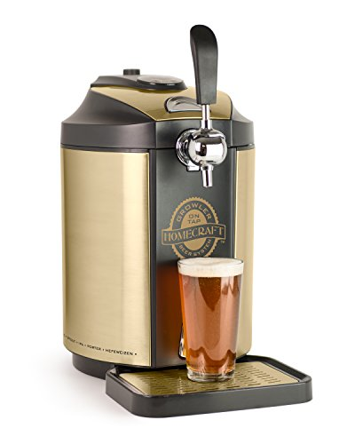 Nostalgia CBD5 Homecraft On Tap Beer Growler Cooling System by Nostalgia