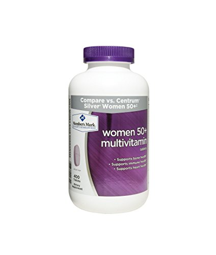 Member's Mark - Women 50+ Multivitamin, 400 Tablets (Compare to Centrum)