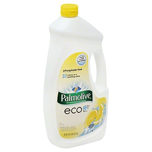 Palmolive Gel Dishwasher Detergent, Lemon Clean Scent, 75 Ounce