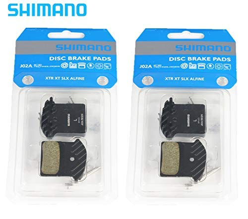 (Shimano J02A Resin Disc Brake Pad for Shimano Brake (2 Pairs))