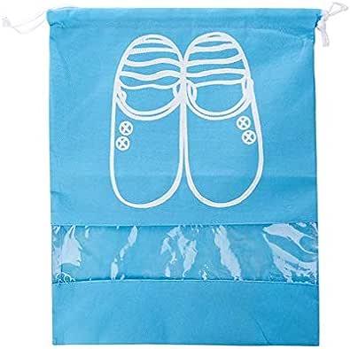 حقيبتان متنقلتين للسفر ومنظم أحذية مقاوم للغبار للرجال والنساء حقائب تخزين موفرة للمساحة مقاومة للماء