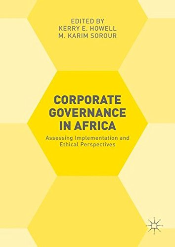 Corporate Governance in Africa: Assessing Implementation and Ethical Perspectives by Palgrave Macmillan
