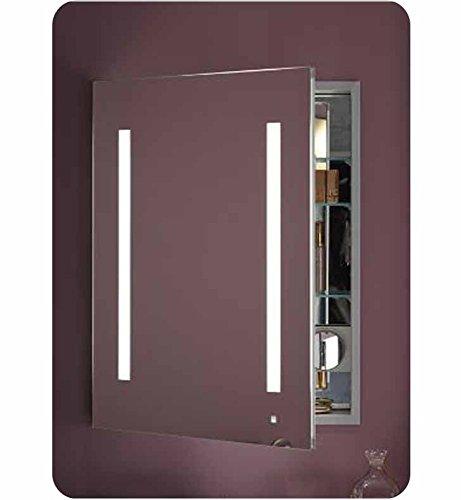 Robern AC2430D4P1L 4000K Temperature LUM Lighting-Left Hinge AiO 24' x 30' Single Door Cabinet...