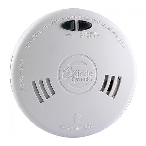 Kidde fyrnetics 1sfwr Slick rápido ajuste - Detector de humo detector de alarma con batería Litio Recargable copia de seguridad: Amazon.es: Electrónica