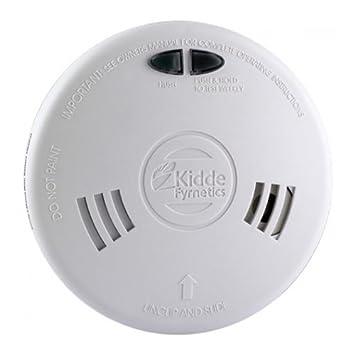 Kidde fyrnetics 2sfwr Slick óptico de rápido ajuste (fotocélula) detector de humo alarma con respaldo de batería recargable de litio: Amazon.es: Electrónica