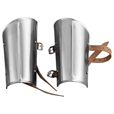 Armor Venue Steel Arm Guards - Metallic - One Size Fit Most