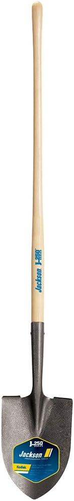 """Ames Jackson Kodiak Round Point Shovel with 47"""" Ash Wood Handle"""