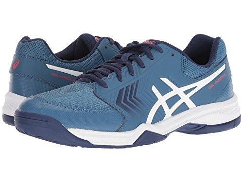[asics(アシックス)] メンズランニングシューズ?スニーカー?靴 Gel-Dedicate 5 Azure/White 9 (27cm) D - Medium