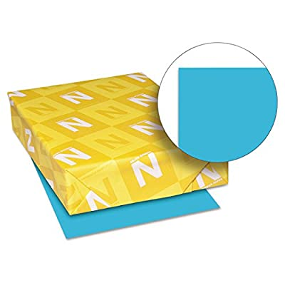 Neenah Paper 22521 Color Paper, 24lb, 8 1/2 x 11, Lunar Blue, 500 Sheets