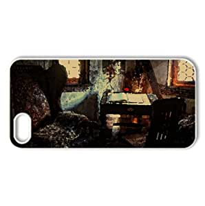 Old Room HDR Watercolor style Cover iPhone 5 and 5S Case