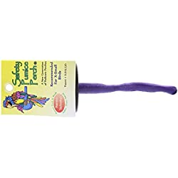 Sweet Feet and Beak Safety Pumice Perch for Birds, X-Small – Purple- Helps Stimulate Leg Muscles and Promotes Healthy Feet