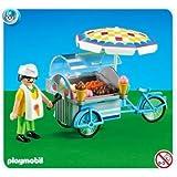 Playmobil - 7492 - Marchand de Glaces …Emballage Plastique, pas de boîte en carton