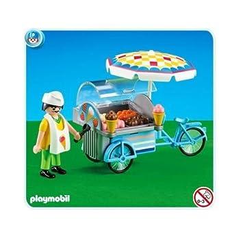 Playmobil - 7492 - de caravana de helados... embalaje plástico, Pas de caja de cartón: Amazon.es: Juguetes y juegos